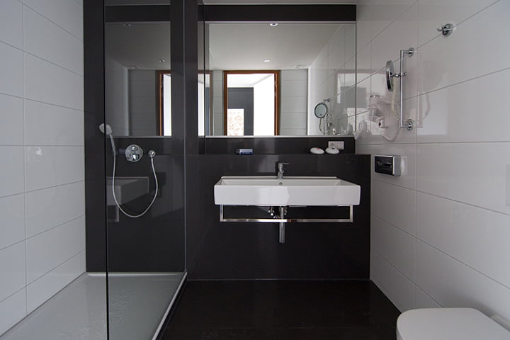 Composiet vloer badkamer marmer vloer badkamer u2013 landelijke badkamer bad - Center meubilair keuken ...